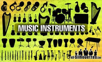 free vector Music Instruments