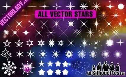 free vector Free Vector Stars