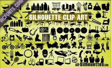 free vector Silhouette Clip Art