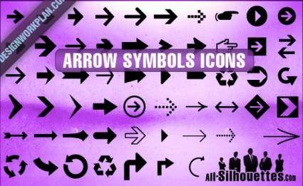 free vector Arrow Symbols Icons