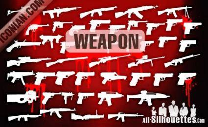 free vector Vector Military Weapon