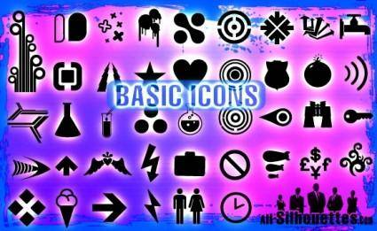 free vector Basic Icons