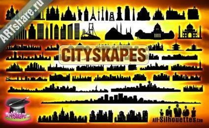free vector Vector City Scape