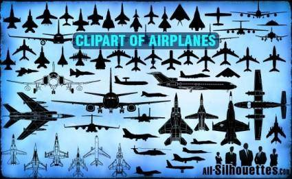 Vector Airplane Clipart