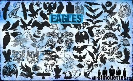 Vector Eagles Clipart