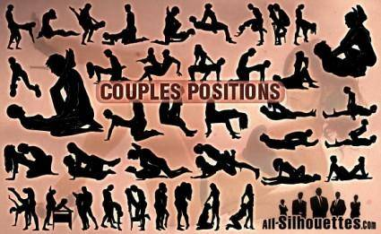 free vector Free Vector Couples Positions