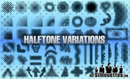 Vector Halftones Elements