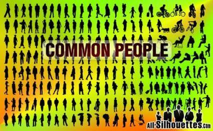 free vector Common People for Architecture
