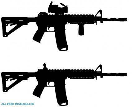 AR 15 Silhouette
