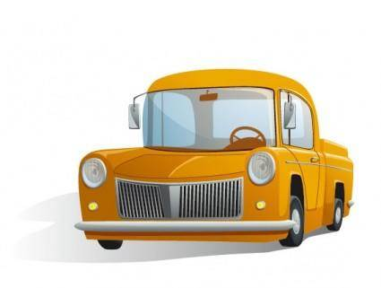 free vector Cartoon automotive illustrator 02 vector