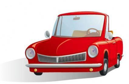 free vector Cartoon automotive illustrator 03 vector