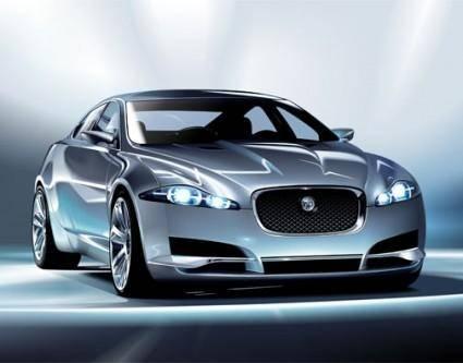 free vector Jaguarcxf car vector