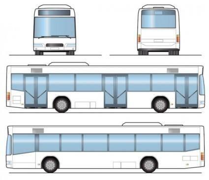 Bus 04 vector