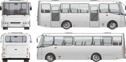 Bus 02 vector