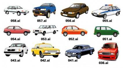 free vector 1 exquisite variety of cars vector