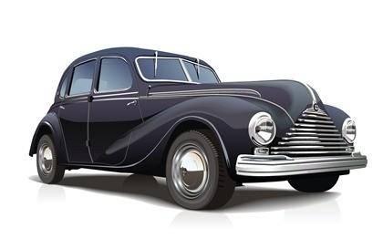 Free Vector Vintage Car
