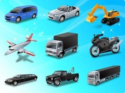free vector Free Vehicle and Transportation Vector Illustration