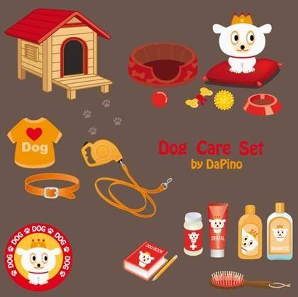 Free Dog Care Vector