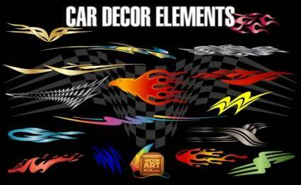 Car Decor Elements