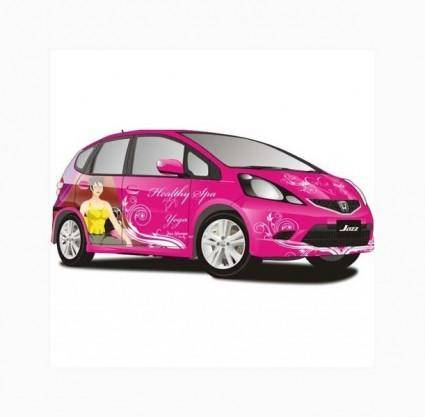 free vector All New Jazz Car Vector