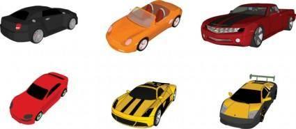 6 Vector automobiles