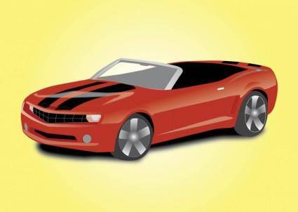 free vector Sports Car Convertible