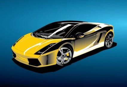 free vector Racing Car Vector