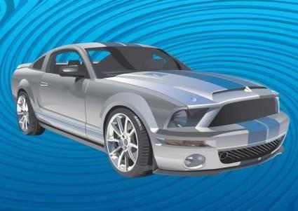 free vector Mustang Car Vector