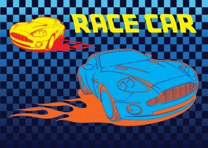 Free Race Car Vector