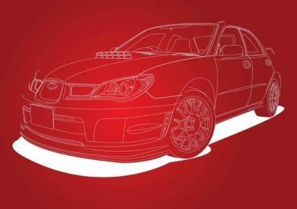 free vector Subaru Impreza Car