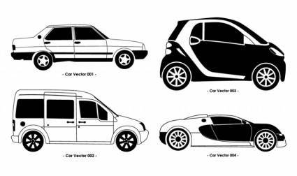 free vector Car Set