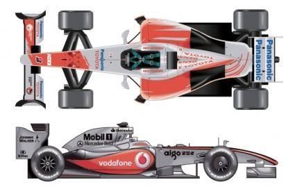 free vector Formula 1 Cars