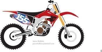 free vector Motocross Vector