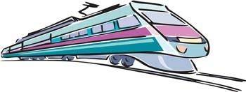 free vector Modern Train