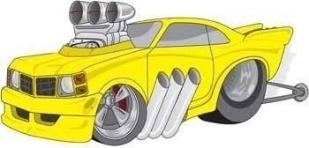 free vector Modification Car