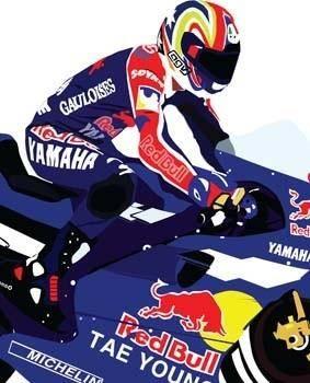 free vector MotoGP Vector