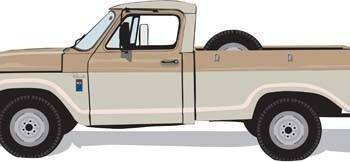 free vector Classic SUV