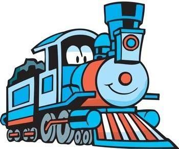 free vector Coal Train