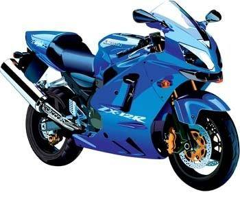 free vector Suzuki ZX Sport Bike