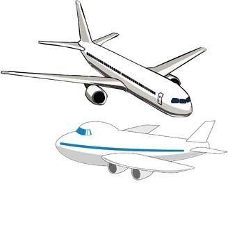 free vector Boeing Commercial Flight