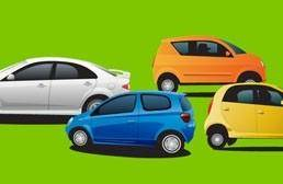 free vector Hatchback small car