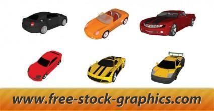 free vector Vector Cars