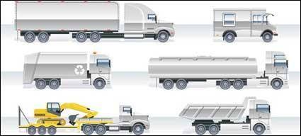 free vector Heavy Vehicle Vector