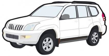 Toyota car vector