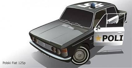 free vector Fiat car vector