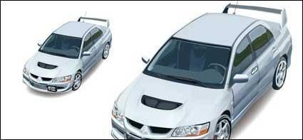 free vector Giggle vector-Lancer? Evolution car