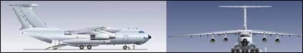 free vector Passenger aircraft vector material
