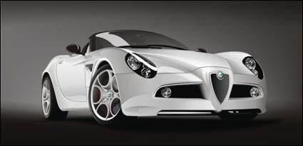 free vector Alfa-Romeo-8c-Spider