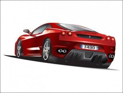 free vector Ferrari