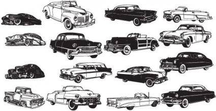 Transport cars free vector